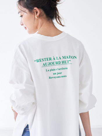 【EC先行予約】バックロゴロングTシャツ