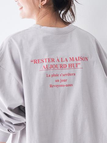 【店舗限定販売】バックロゴロングTシャツ