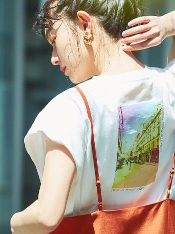 abahouse mavie - 【販売店舗限定】カラーフォトTシャツ
