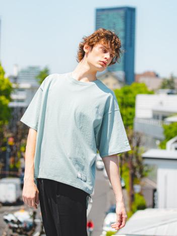 ABAHOUSE GRAY - 【別注】Russell/ラッセル ドローコード 半袖Tシャツ