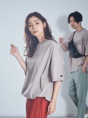 【別注】RUSSELL ATHLETIC×abahouse mavie ドローコードTシャツ