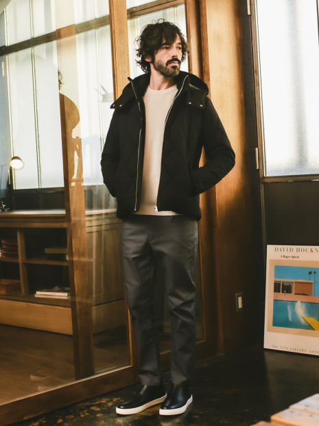 【展開店舗限定】ストレッチ イージー 5ポケット パンツ