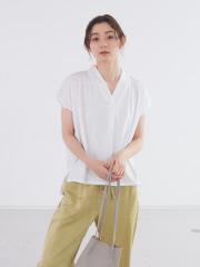 【新色追加】ecru シルケットプルオーバー