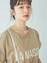 【WEB限定】ワイドビッグロゴTシャツ