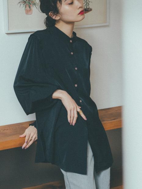 【展開店舗限定】袖ボリューム2WAYブラウス