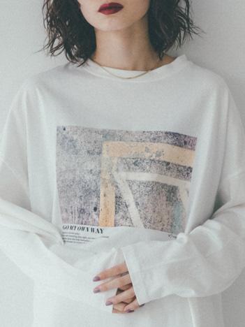【展開店舗限定】ビッグシルエットロゴロンTシャツ