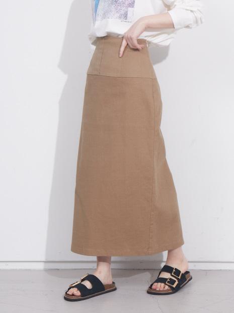 【展開店舗限定】コットンペンシルスカート【予約】