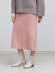【追加生産&新色】スエードタイトロングスカート